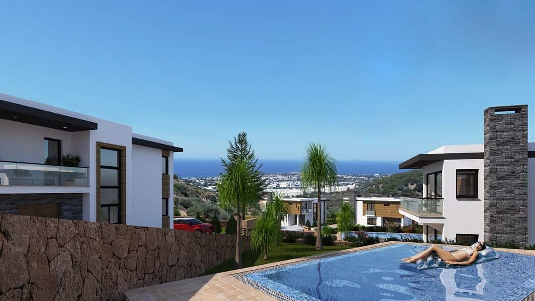 Karmi'de Satılık Lüks 4 Yatak Odalı Villa Projesi 9456