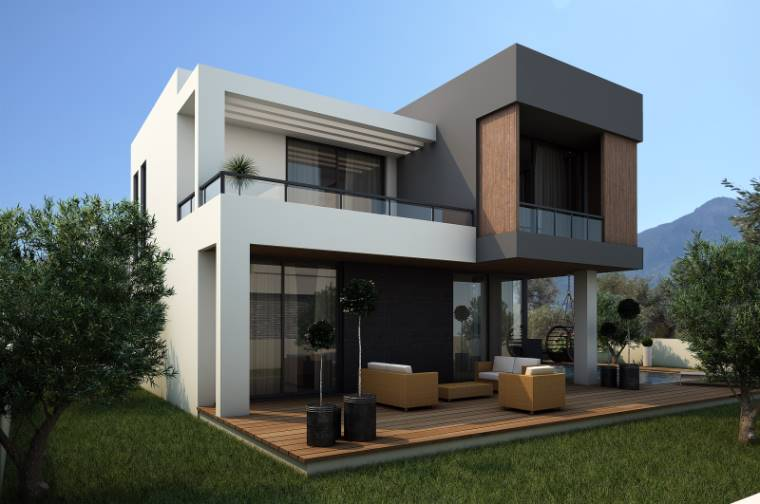Girne Ozanköy'de Satılık 3+1 Villa-Müstakil