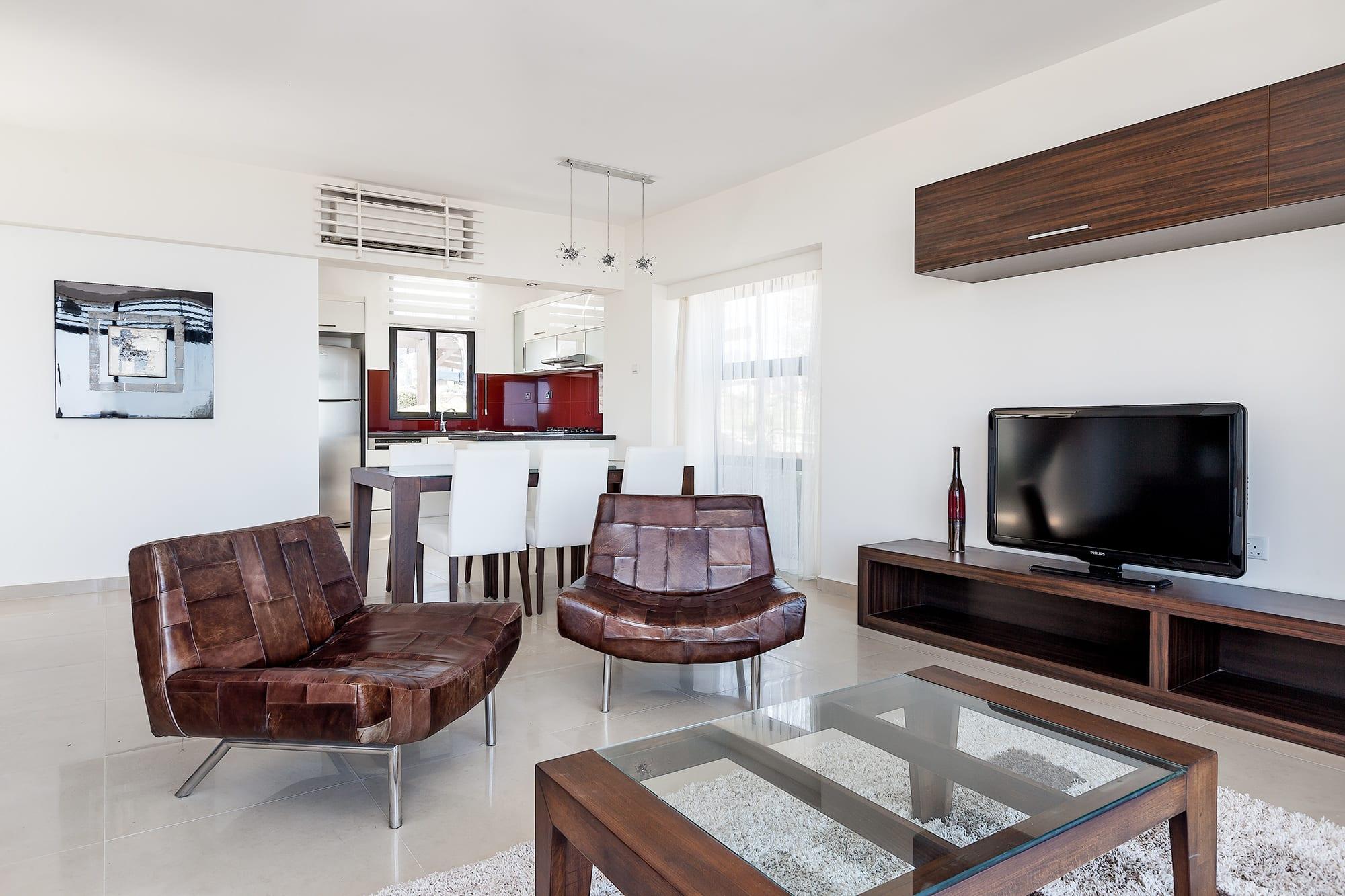 Bahçeli'de Satılık Denize Sıfır 3 Yatak Odalı ve Özel Havuzlu Villalar 9868