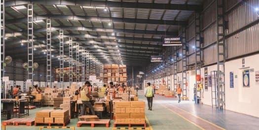 Consolidation Warehousing Service in Delhi