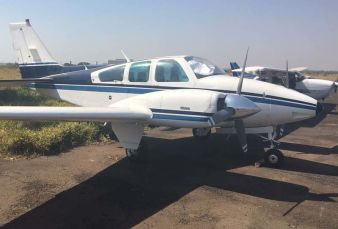 Beechcraft Baron B55  BE55 1980