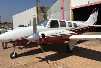 Beechcraft Baron 58TC BE58 1978