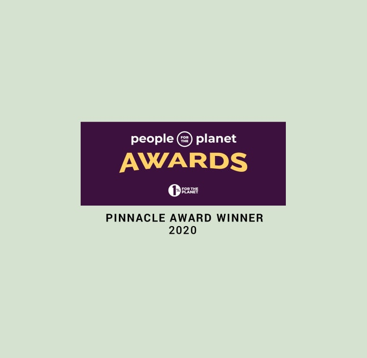 One Percent for the Planet Pinnacle Award 2020 Avocado Green Mattress
