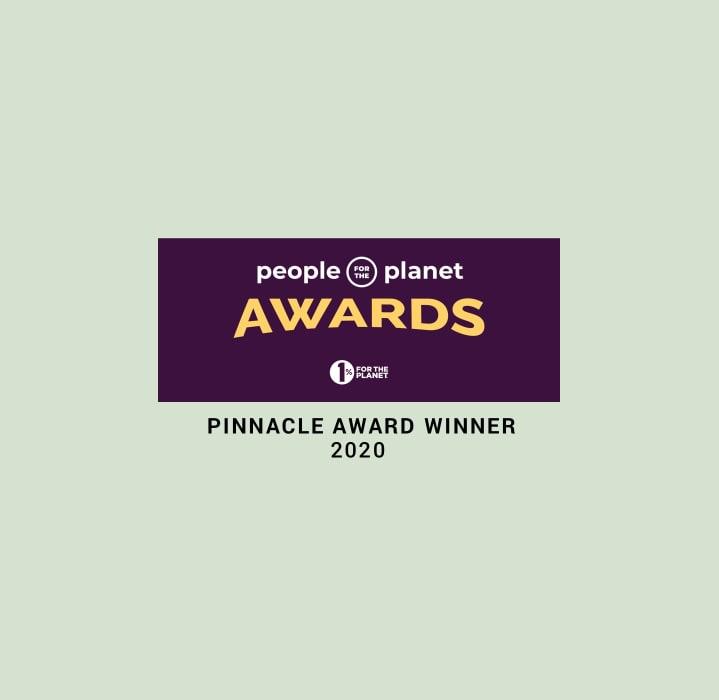 One Percent for the Planet Pinnacle Award 2020 Avocado Green Mattress
