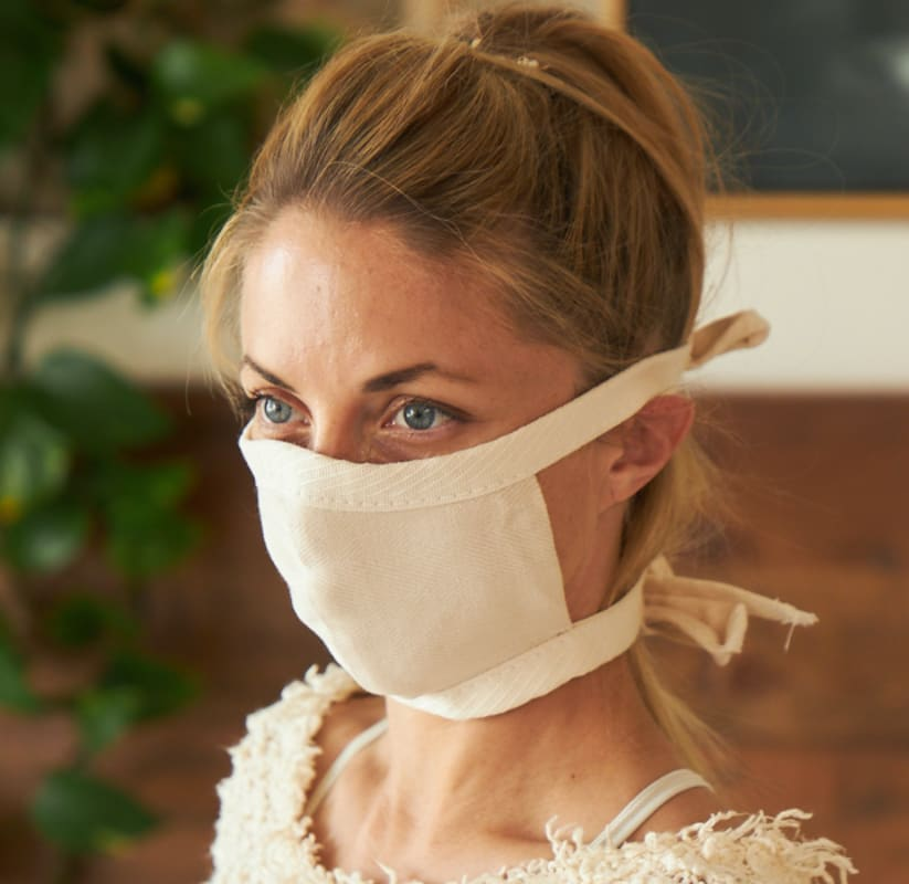 Organic Cotton Face Mask Product Photo