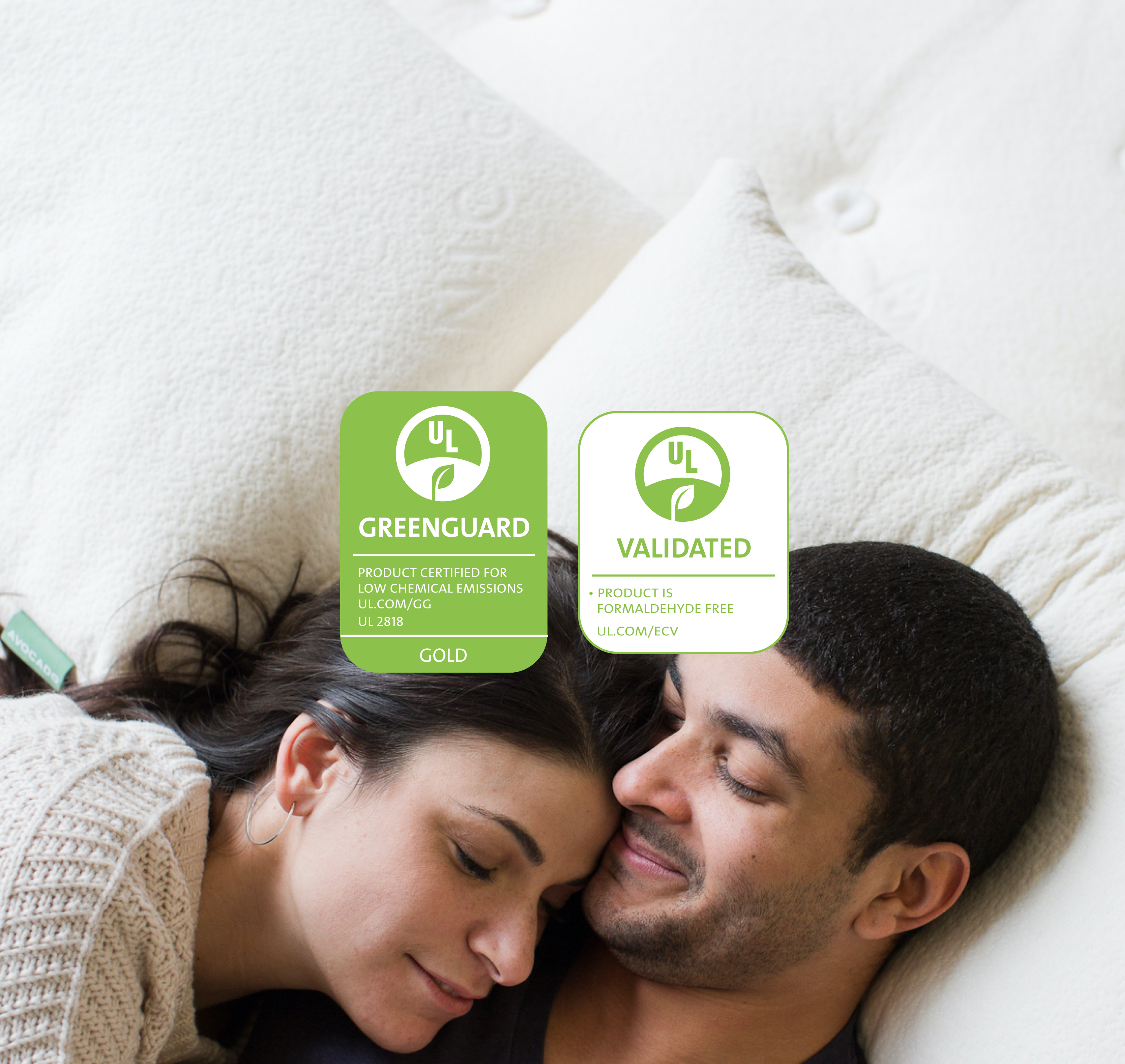 Avocado Green Mattress Greenguard Gold Formaldehyde Free Certified