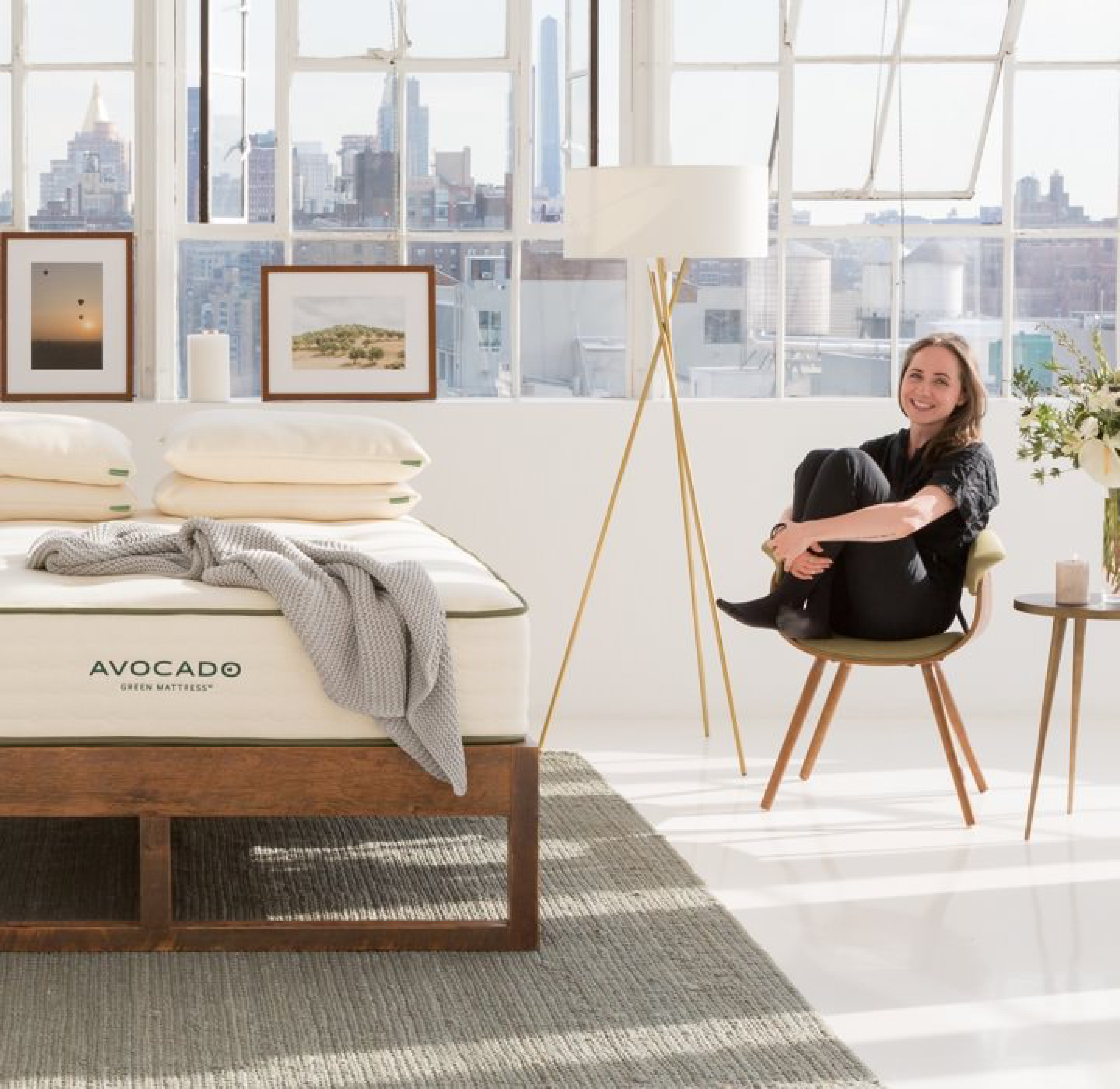 Affordable Natural Latex Hybrid Mattress and Beds by Avocado Green