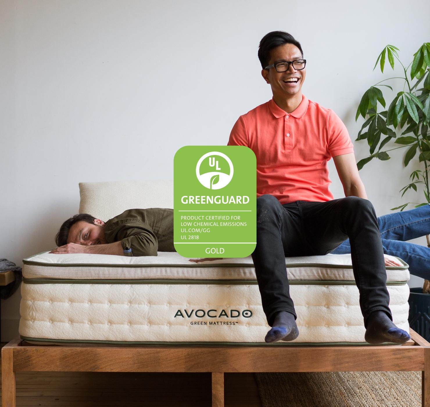 Avocado Green Mattress Greenguard Gold Certified