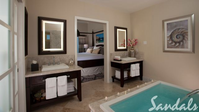 Butler Village Honeymoon Romeo & Juliet One Bedroom Villa Suite with Private Pool Sanctuary - RJ