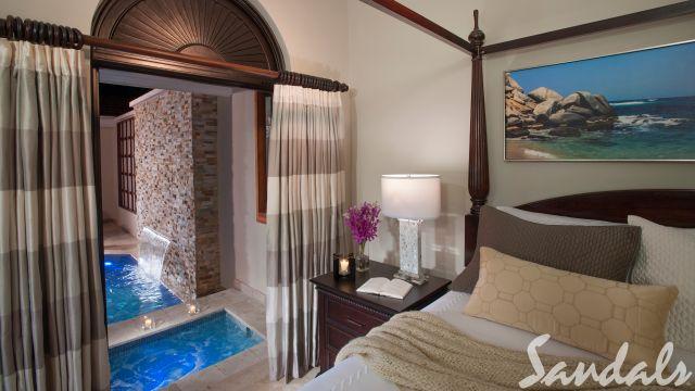 Butler Village Honeymoon Romeo & Juliet One Bedroom Villa Suite with Private Pool Sanctuary