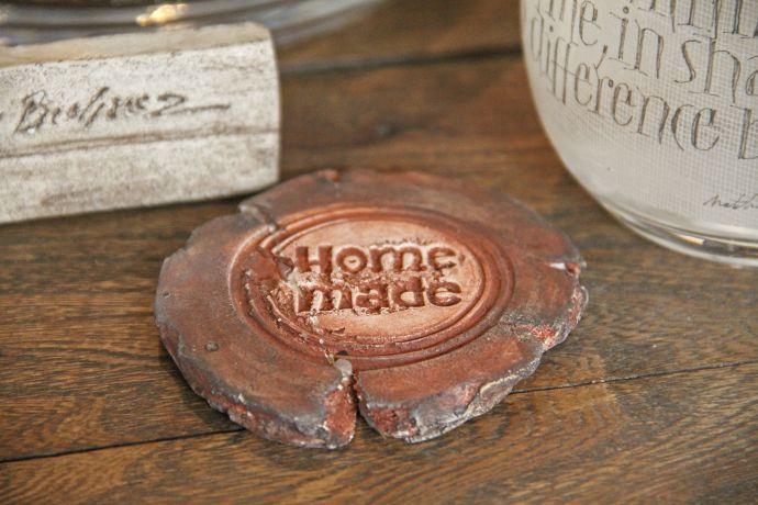 Handmade-Schild aus Brügge