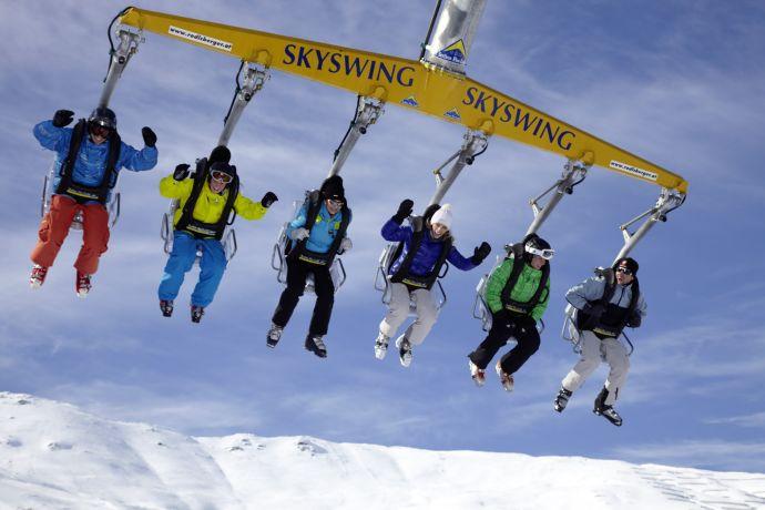Skiswing in Serfaus