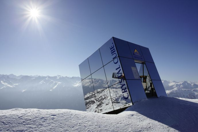 Cristal Cube in Serfaus