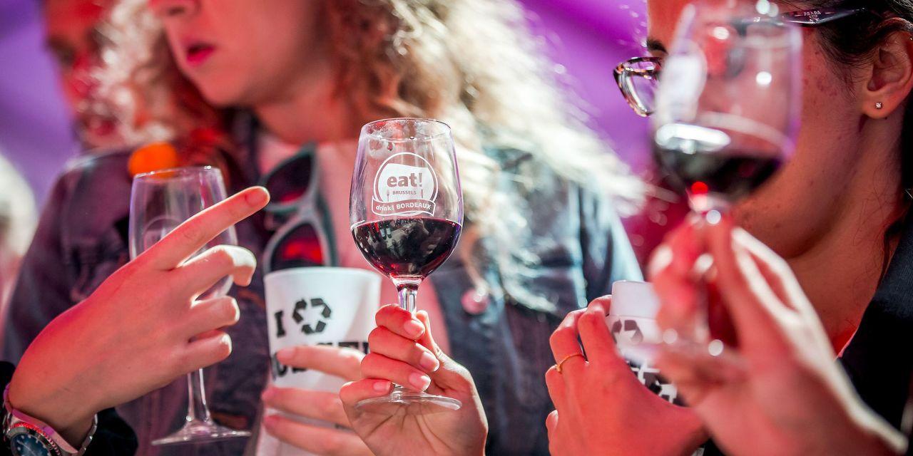 Weinprobe auf der eat! Brussels