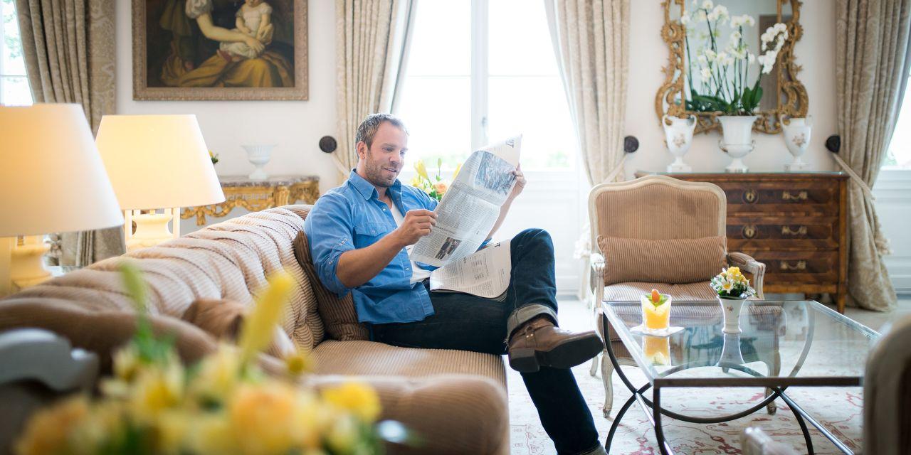 Dominic Boeer im Grand Hotel Heiligendamm