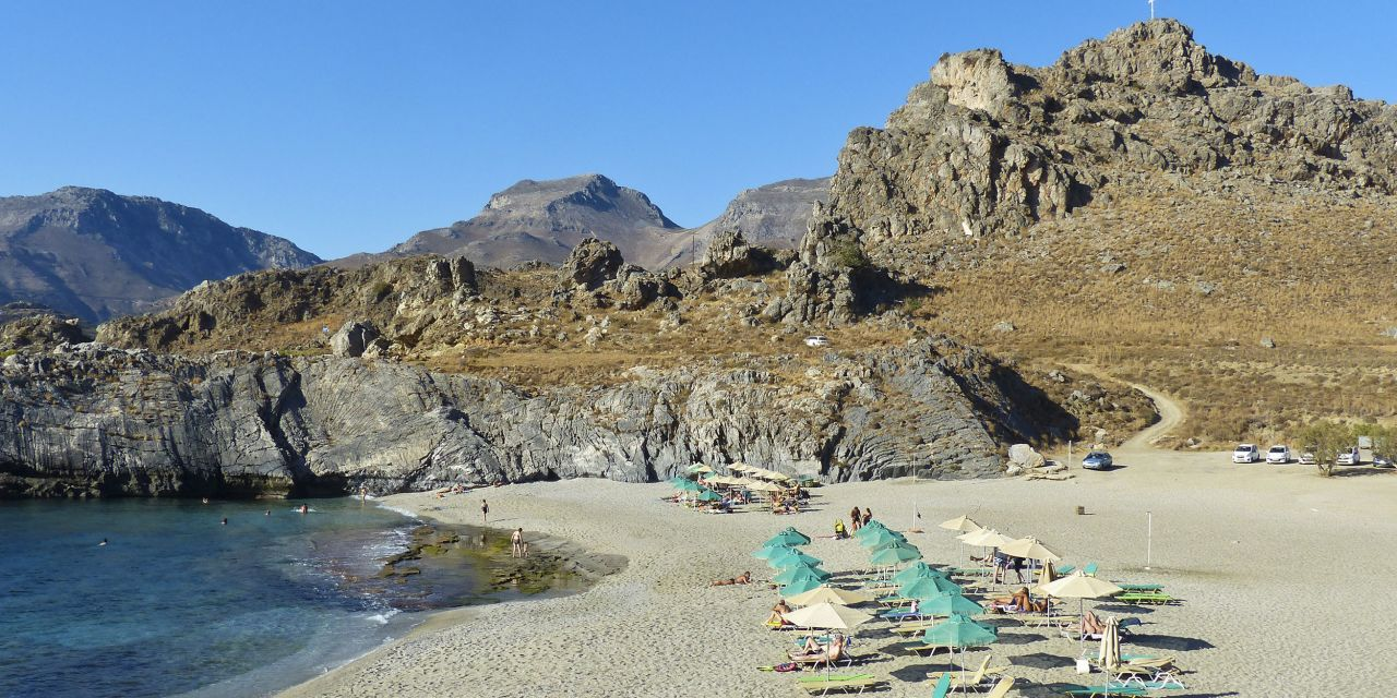 Strand von Amoudi