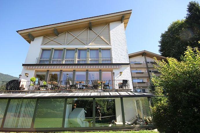 Blick auf das Hotel Villa Dolce Vita in Bodenmais in Deutschland