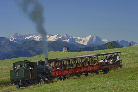 Rigibahn, Dampflok, Vierwaldstättersee, Zentralschweiz