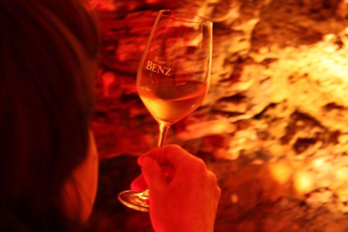 Wein aus dem Weingut Benz