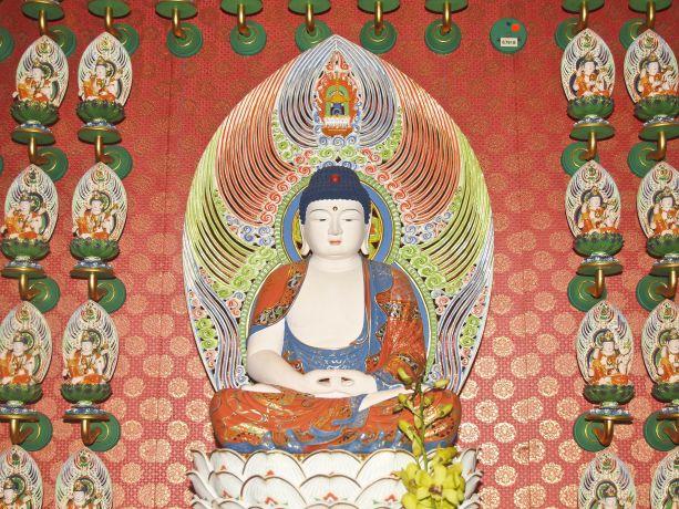 Neuer Buddha-Tempel in Chinatown