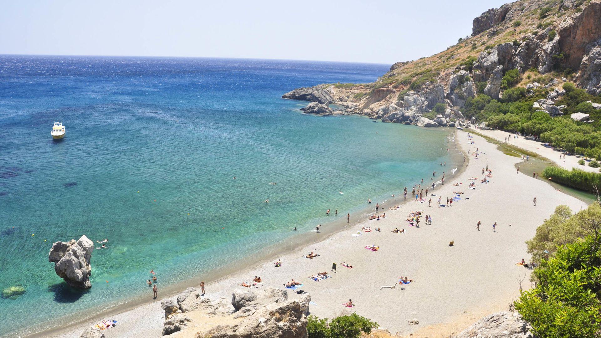 Kreta Karte Stalis.ᐅ Die 10 Schönsten Strände Auf Kreta Reisemagazin Holidaycheck
