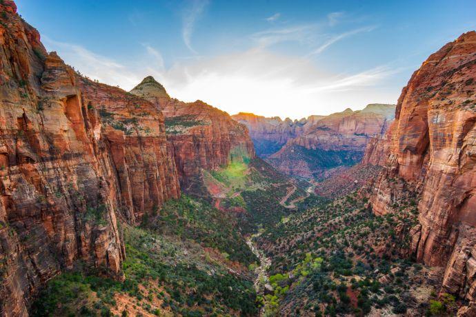 Der Zion National Park in Utah