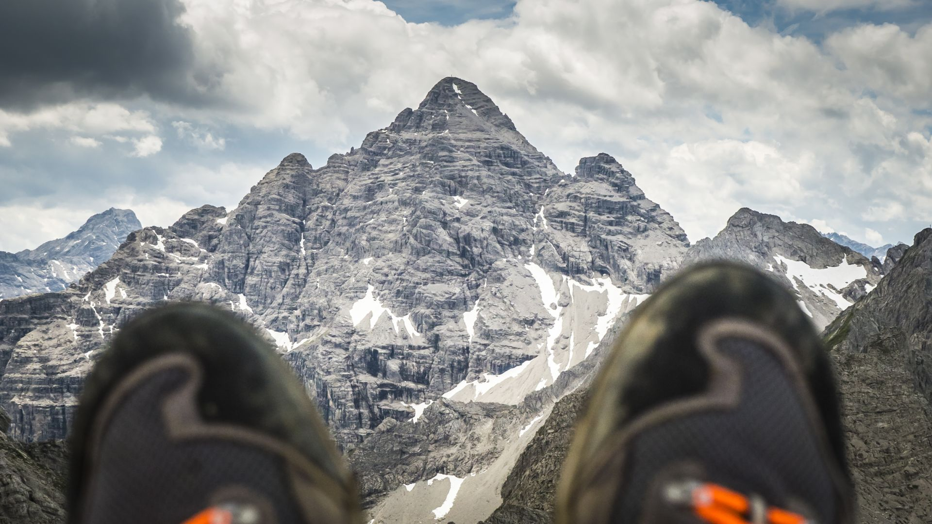 Hindelanger Klettersteig Ungesicherte Stellen : Hindelanger klettersteig höhenangst