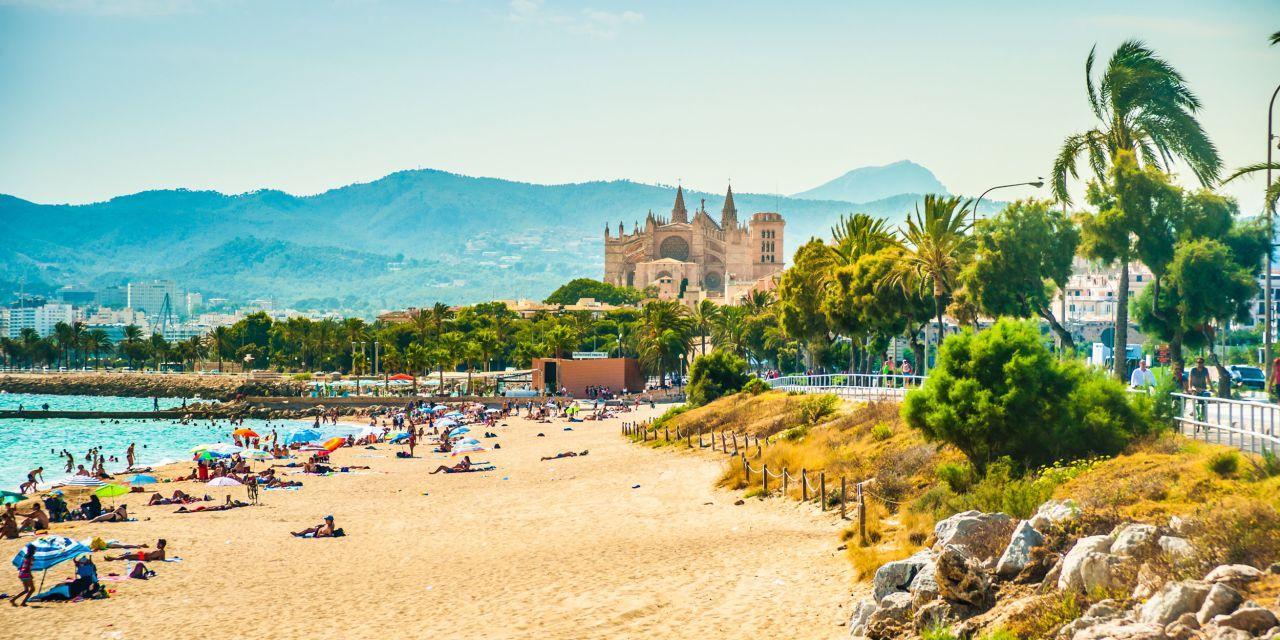 Stadtstrand von Palma