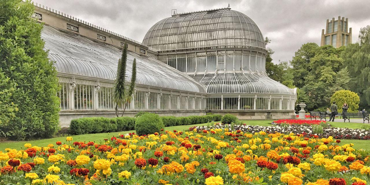 Der Belfast Botanical Garden