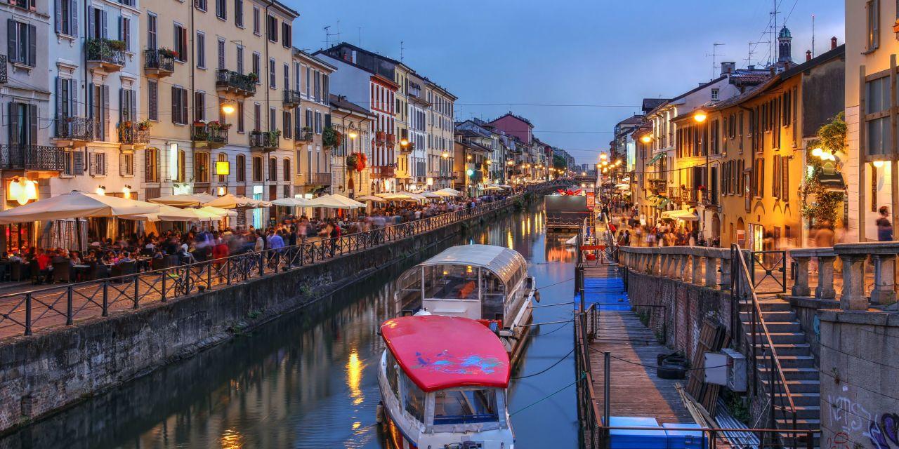 Navigli Viertel Mailand