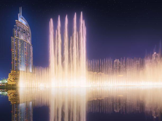 In Dubai hat das Nachtleben einiges zu bieten © visitDubai