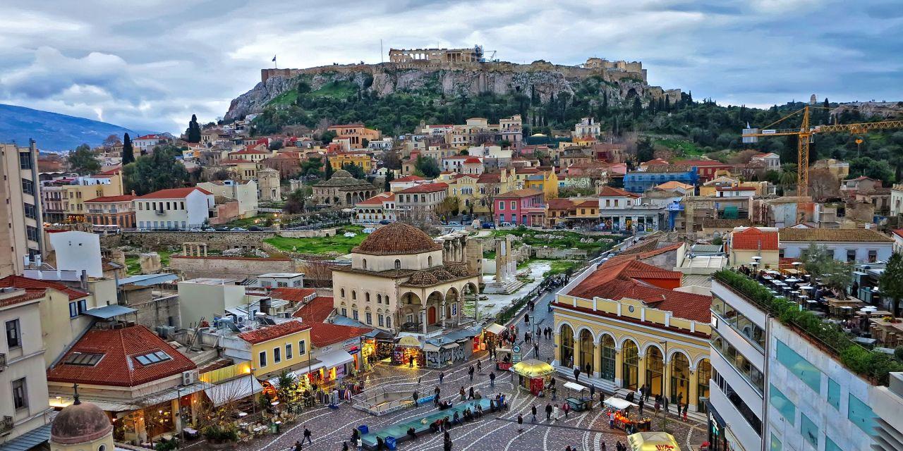 Das Viertel Monastiraki