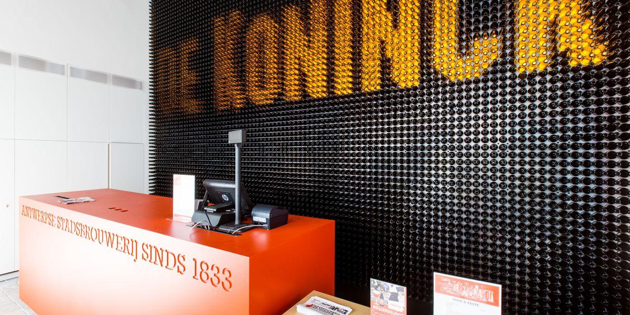 Die Brauerei de Koninck in Antwerpen