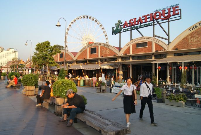 Shoppingmall Asiatique in Bangkok