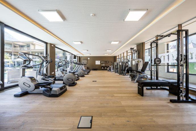 Fitnessraum im Hotel Prokulus in Südtirol