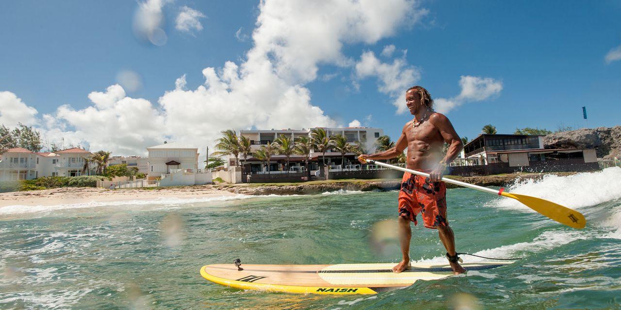 Wassersport auf Barbados