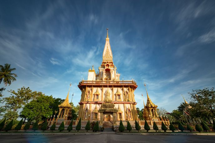 Tempel von Wat Chalong Phuket
