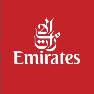 Emirates Logo Anzeige