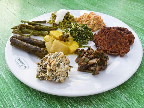 Schmackhafte Mahlzeit in Priene