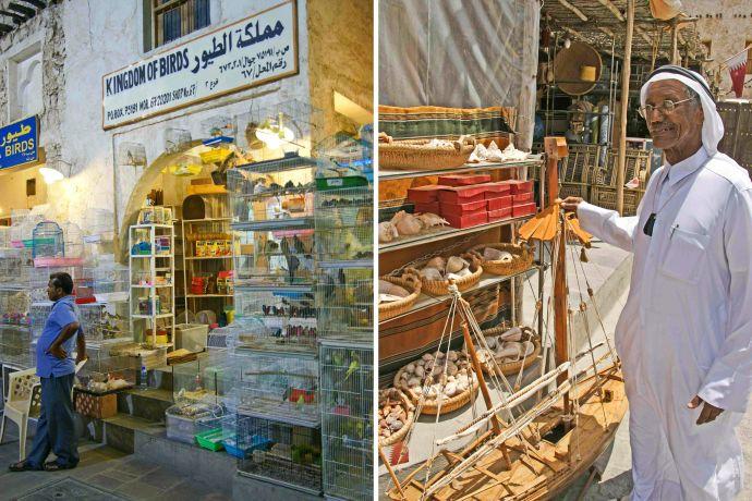 Läden in Souk Waqif