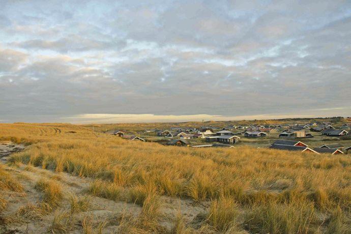 Windiges Wetter bei Hvide Sande