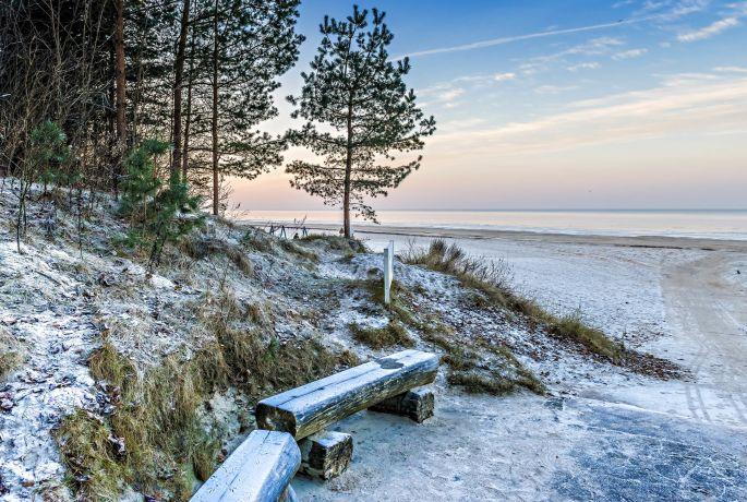 Jurmala gehört im Sommer zu den beliebtesten Badeorten Rigas, ist aber auch im Winter toll