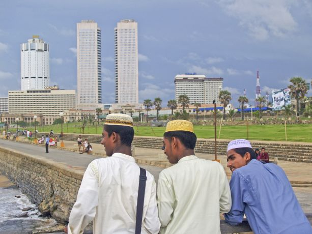 Colombo: Promenade am Galle Face Green