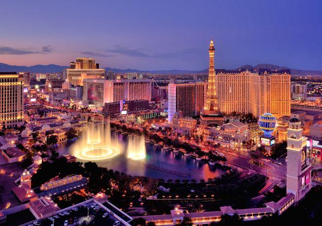 """""""The Strip"""" in der Spielermetropole Las Vegas © BrandUSA"""