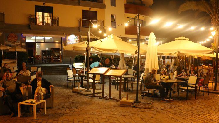 Die Taberna del Puerto am Abend