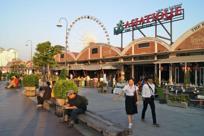 Shoppingmall Asiatique in Bangkok