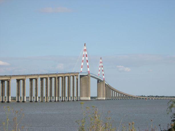 Brücke über die Loire bei Saint Nazaire