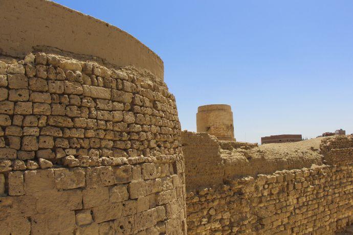 Das alte Fort zählt zu den Sehenswürdigkeiten in El quseir