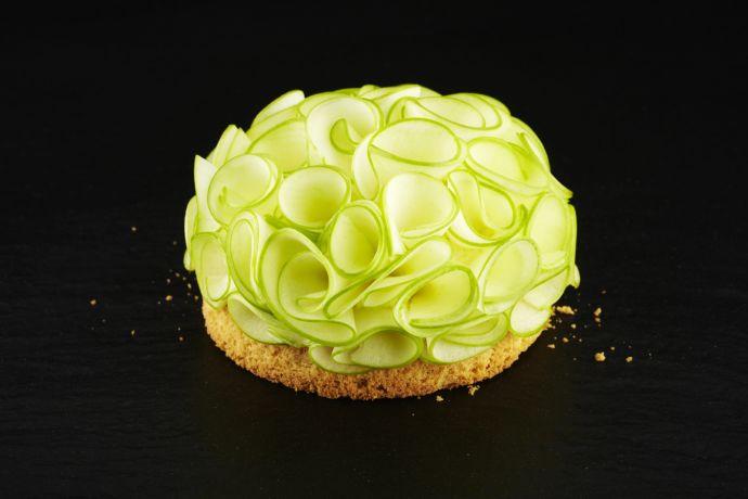 Phantasievolle Kuchenkreation aus Brügge