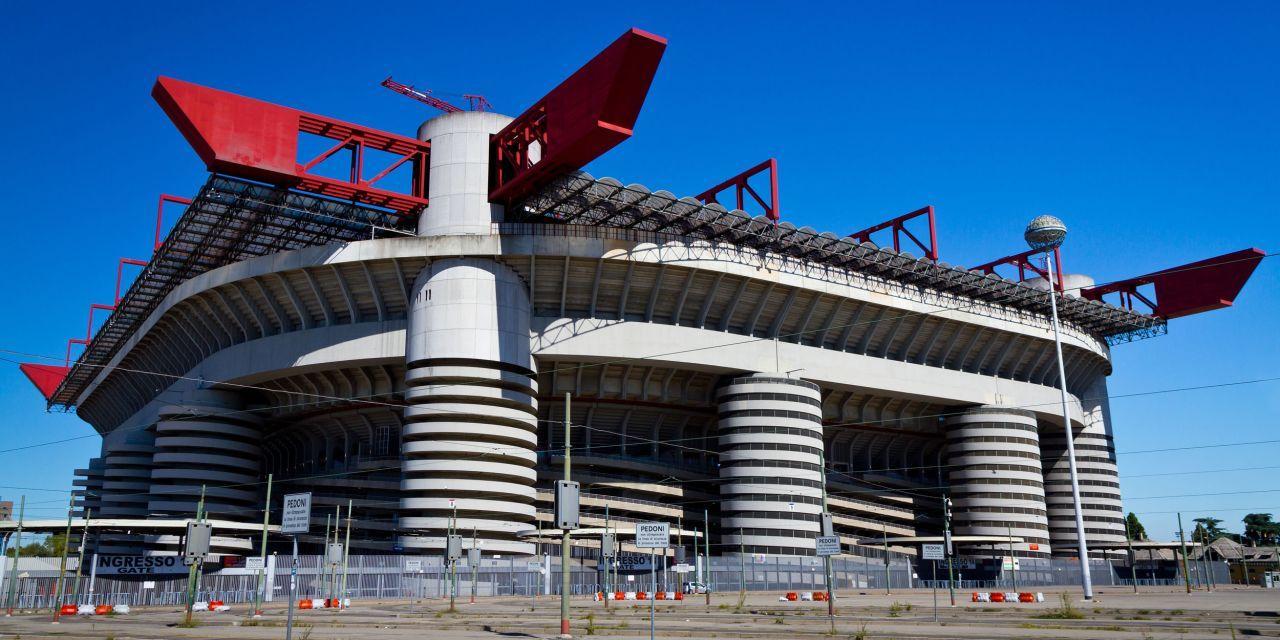 Fußballstadion Mailand